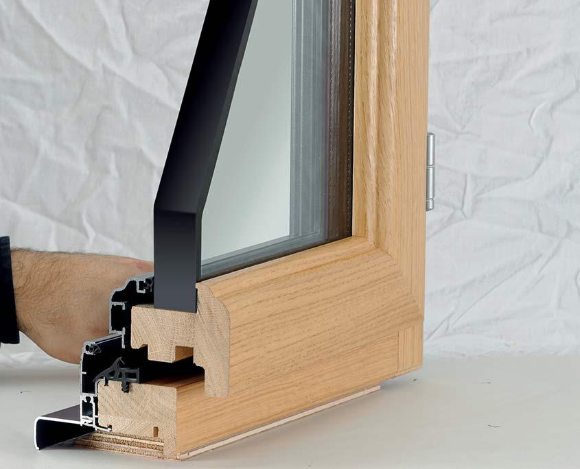 fenêtre mixte ouvertures paris gamme tradilux