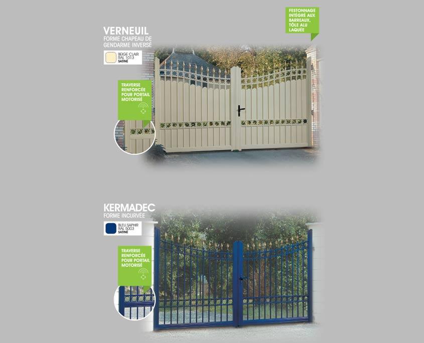 portail alu-ouvertures-paris-gamme-retro-detail