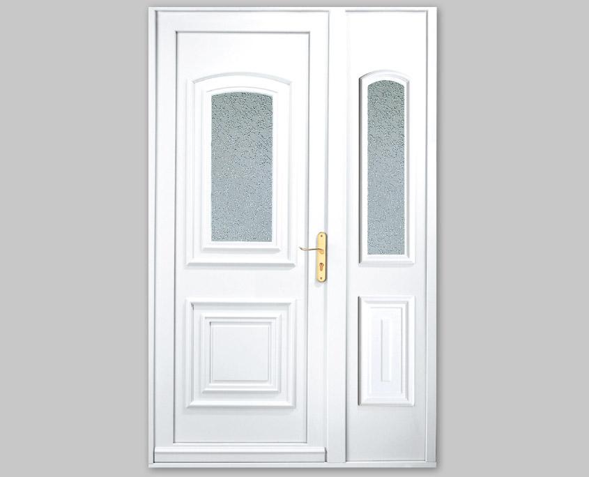 Porte PVC ouvertures gamme spécifique