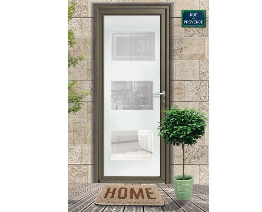 porte alu ouvertures gamme vitrées composite