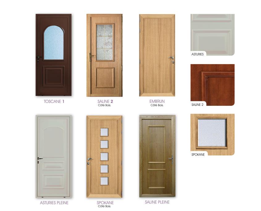 porte mixte bois alu ouvertures